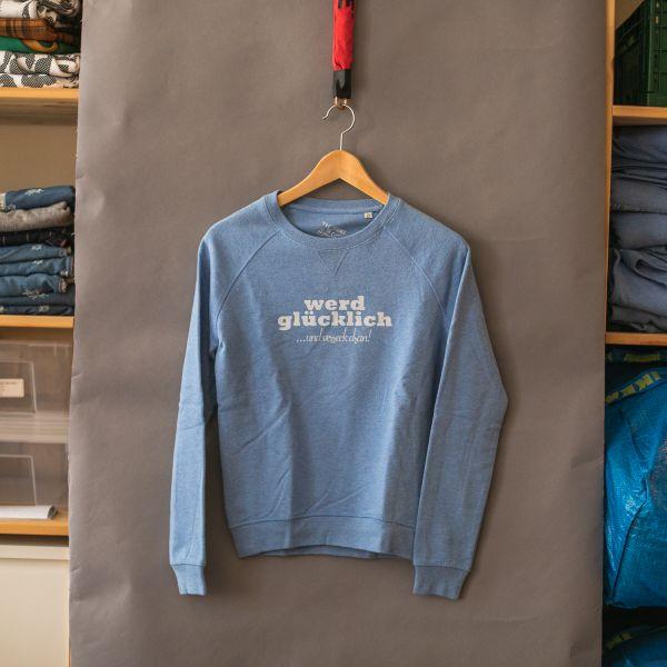 """( XS ) Sweater / Pulli """"WERD GLÜCKLICH"""""""
