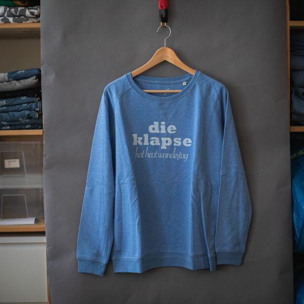 """( XL ) Sweater / Pulli """"DIE KLAPSE HAT HEUT WANDERTAG"""""""