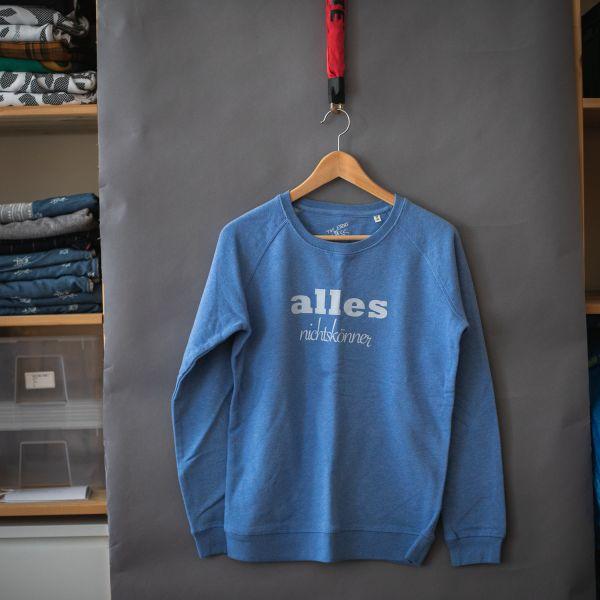 """( M ) Sweater / Pulli """"ALLES NICHTSKÖNNER"""""""