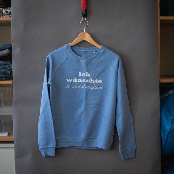 "( S ) Sweater / Pulli ""ICH WÜNSCHTE"""