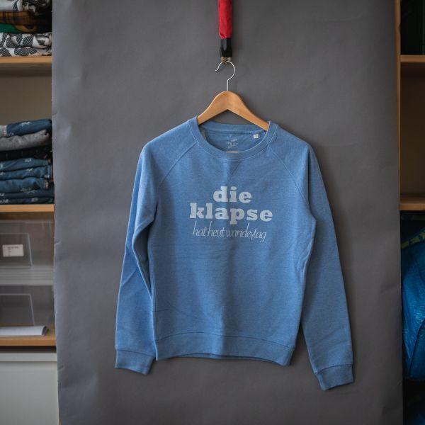 """( S ) Sweater / Pulli """"DIE KLAPSE HAT WANDERTAG"""""""